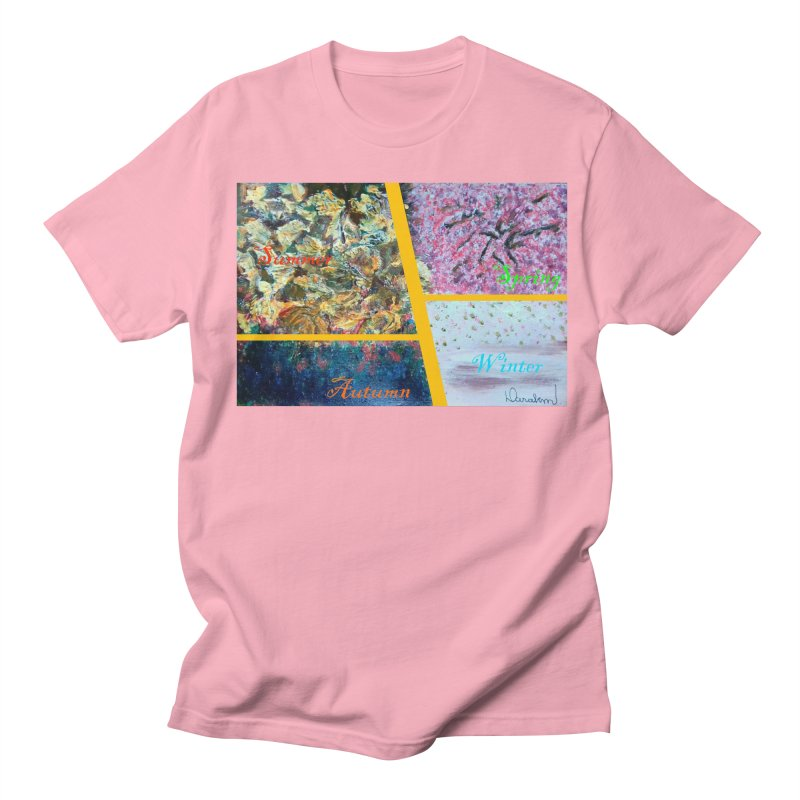 The Four Seasons Matsuo Basho Women's Regular Unisex T-Shirt by Darabem's Artist Shop. Darabem Collection