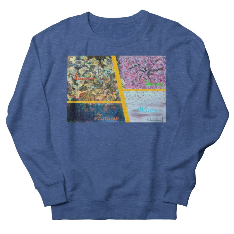 The Four Seasons Matsuo Basho Women's Sweatshirt by Darabem's Artist Shop. Darabem Collection