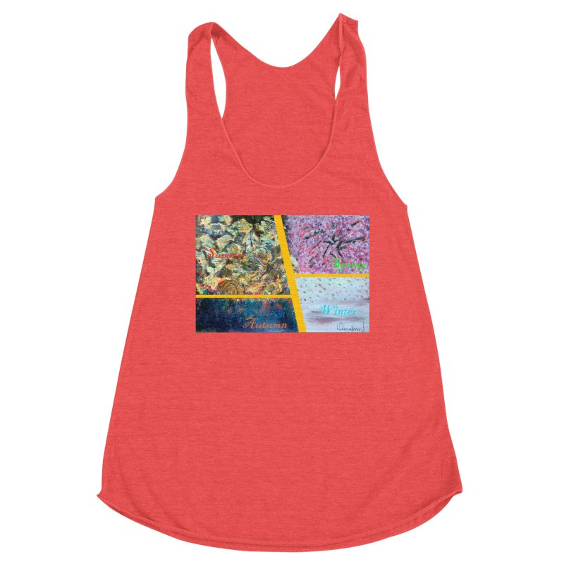 The Four Seasons Matsuo Basho Women's Tank by Darabem's Artist Shop. Darabem Collection