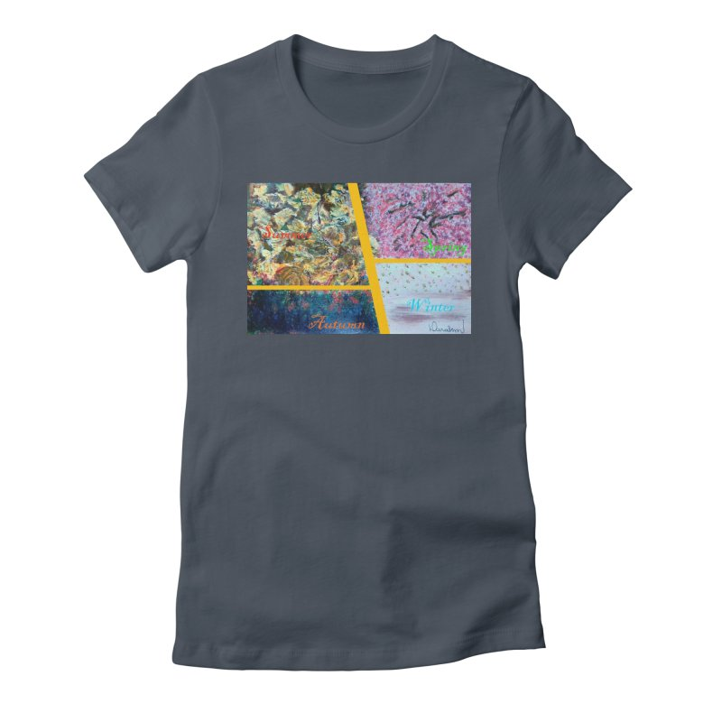 The Four Seasons Matsuo Basho Women's T-Shirt by Darabem's Artist Shop. Darabem Collection