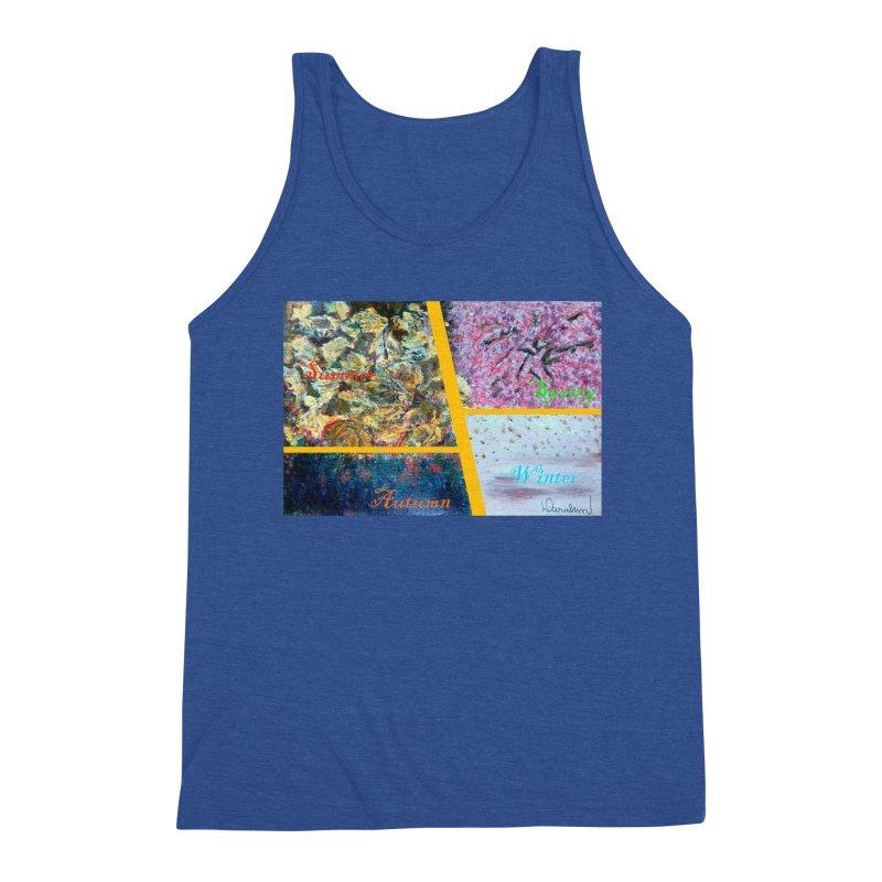 The Four Seasons Matsuo Basho Men's Tank by Darabem's Artist Shop. Darabem Collection