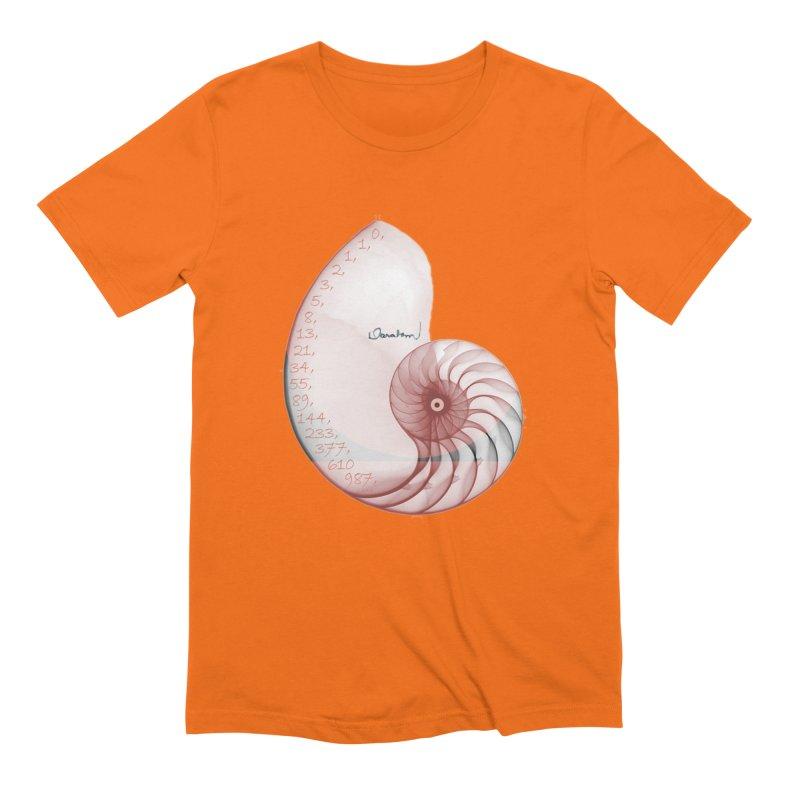 Aurea Men's Extra Soft T-Shirt by Darabem's Artist Shop. Darabem Collection