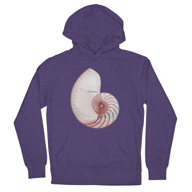 Aurea Women's French Terry Pullover Hoody by Darabem's Artist Shop. Darabem Collection