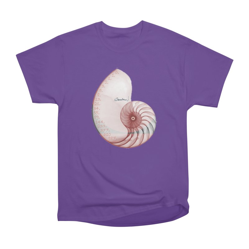 Aurea Women's Heavyweight Unisex T-Shirt by Darabem's Artist Shop. Darabem Collection