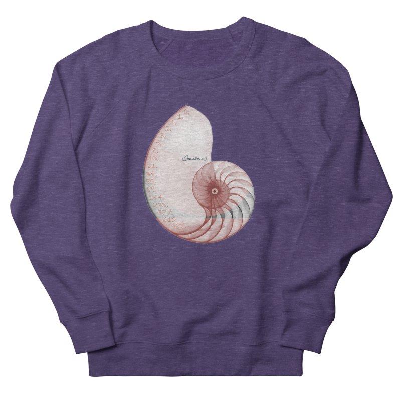 Aurea Women's French Terry Sweatshirt by Darabem's Artist Shop. Darabem Collection