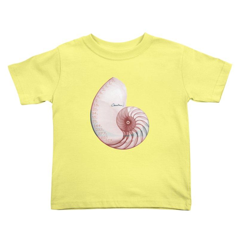 Aurea Kids Toddler T-Shirt by Darabem's Artist Shop. Darabem Collection