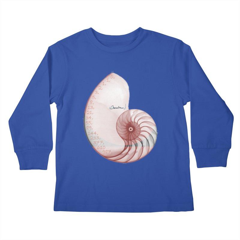 Aurea Kids Longsleeve T-Shirt by Darabem's Artist Shop. Darabem Collection