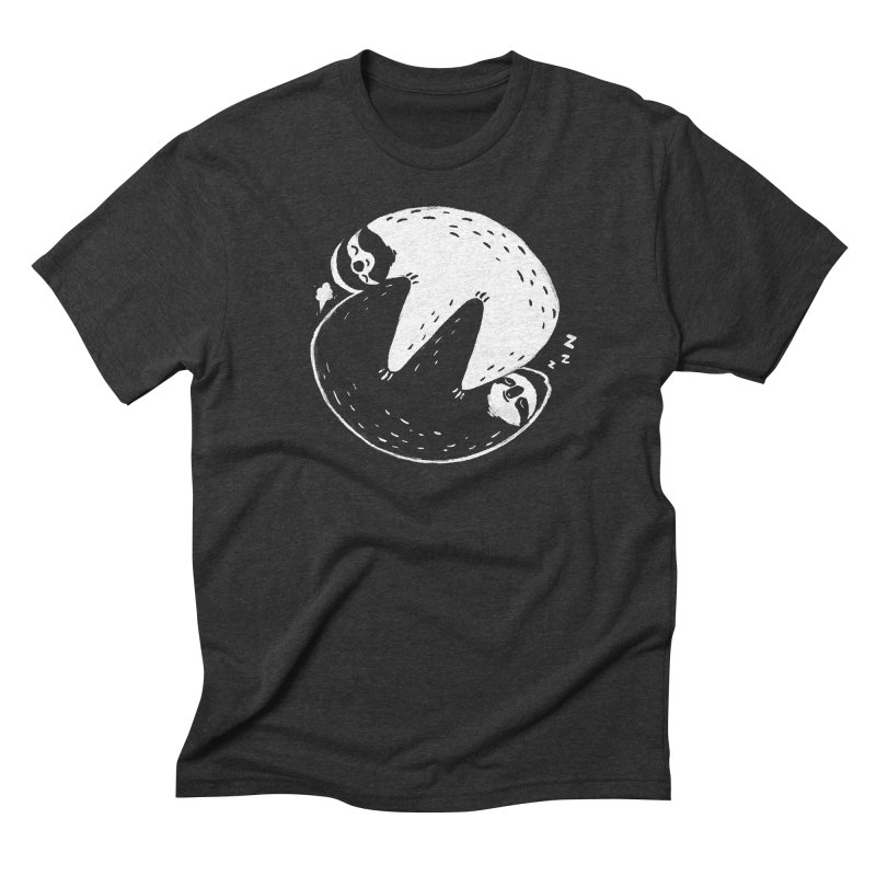 Slothful Slumber Men's Triblend T-Shirt by darel's Artist Shop