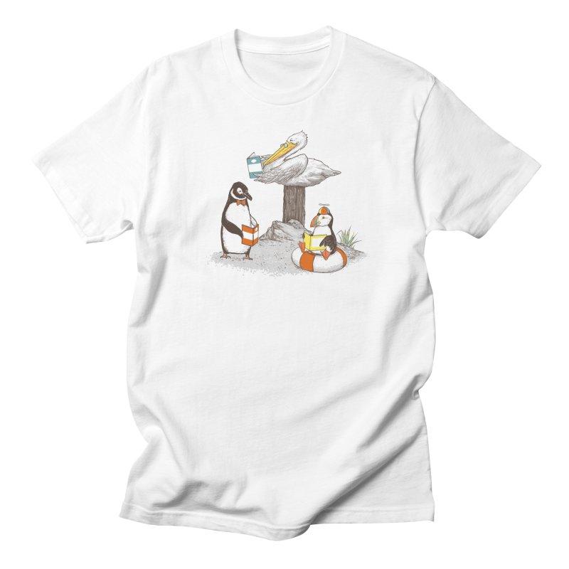 Birds of Literacy Men's T-shirt by darel's Artist Shop