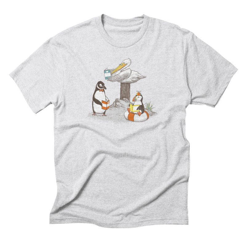 Birds of Literacy Men's Triblend T-Shirt by darel's Artist Shop