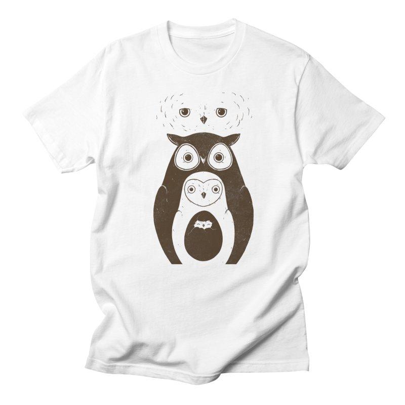Owls Men's T-shirt by darel's Artist Shop