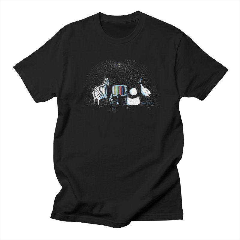 Now in Technicolour Men's T-shirt by darel's Artist Shop