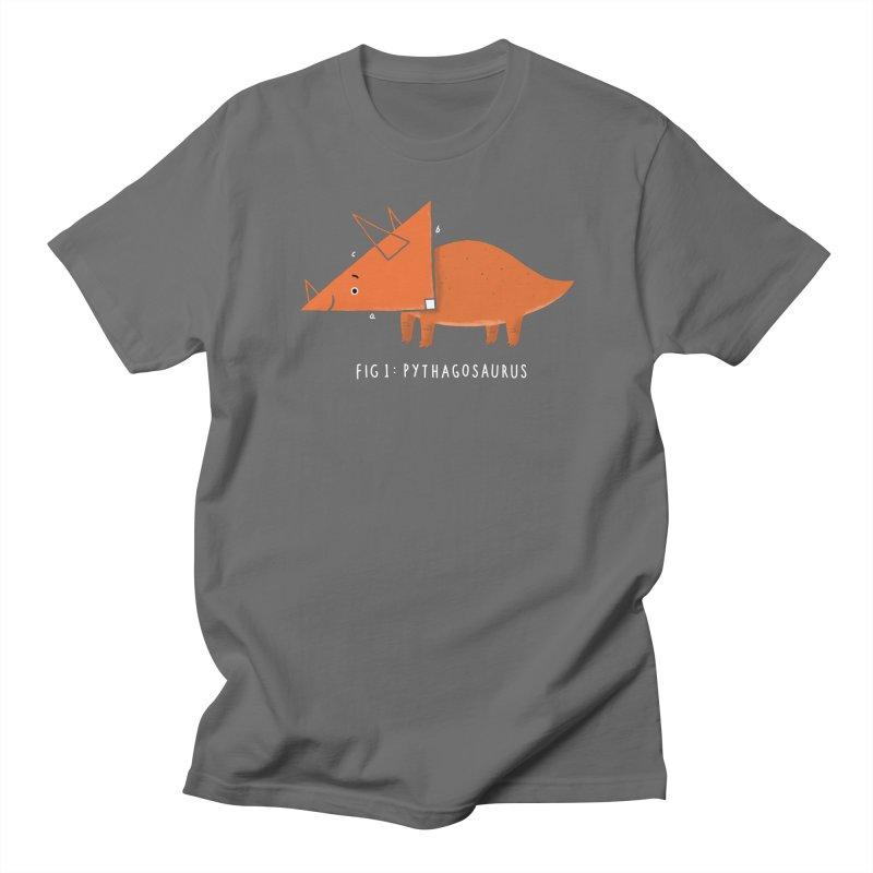 The Pythagosaurus Men's T-Shirt by darel's Artist Shop