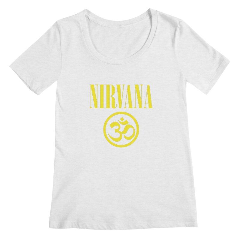 Real Nirvana Women's Regular Scoop Neck by darkchoocoolat's Artist Shop