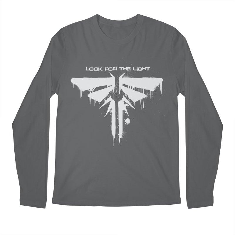 Fireflies Men's Regular Longsleeve T-Shirt by darkchoocoolat's Artist Shop