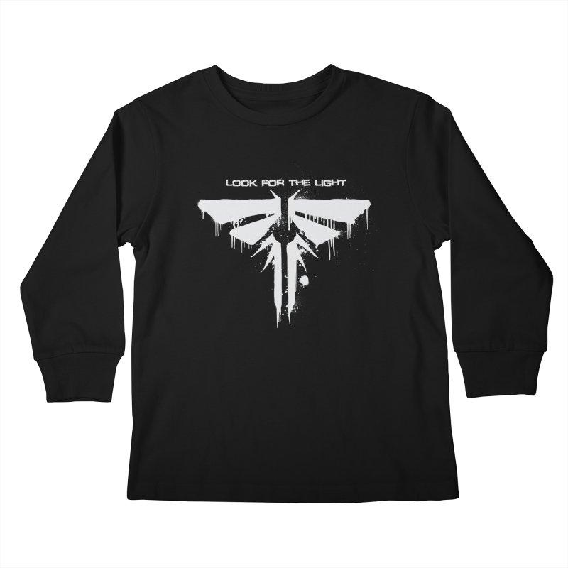 Fireflies Kids Longsleeve T-Shirt by darkchoocoolat's Artist Shop