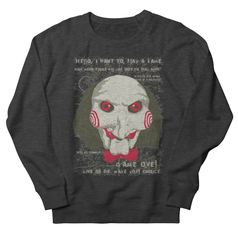 Time to Play ! Men's French Terry Sweatshirt by darkchoocoolat's Artist Shop