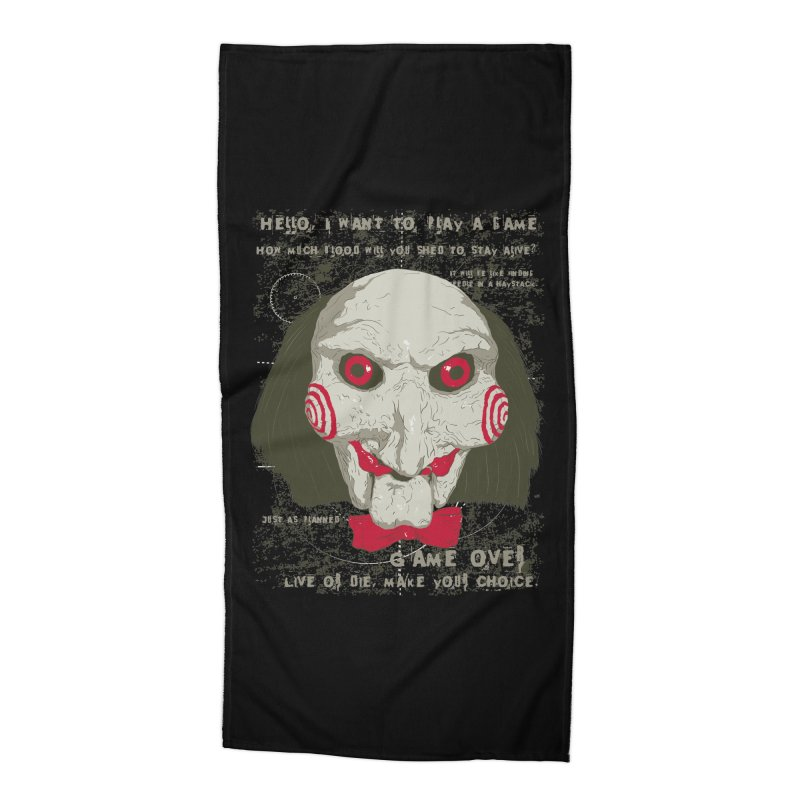 Time to Play ! Accessories Beach Towel by darkchoocoolat's Artist Shop