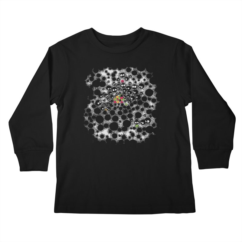 SootBalls Invasion Kids Longsleeve T-Shirt by darkchoocoolat's Artist Shop