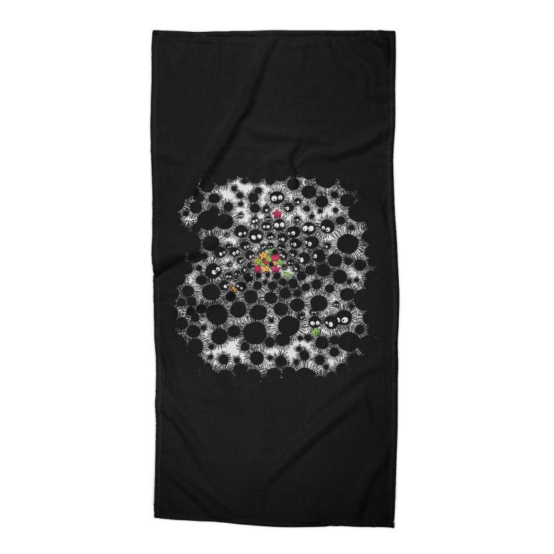 SootBalls Invasion Accessories Beach Towel by darkchoocoolat's Artist Shop