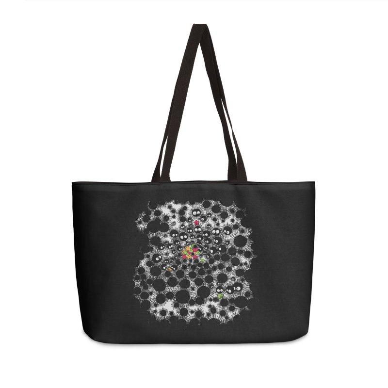 SootBalls Invasion Accessories Weekender Bag Bag by darkchoocoolat's Artist Shop