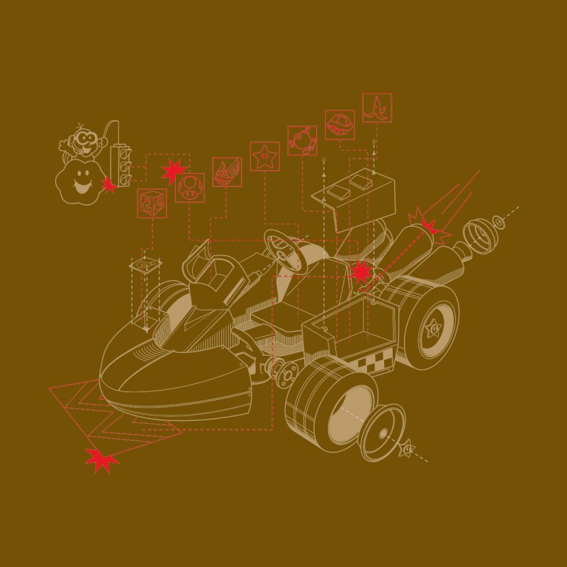 Kart Blue Print by darkchoocoolat's Artist Shop