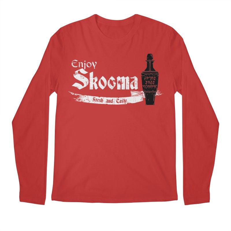 Skooma Lover Men's Regular Longsleeve T-Shirt by darkchoocoolat's Artist Shop