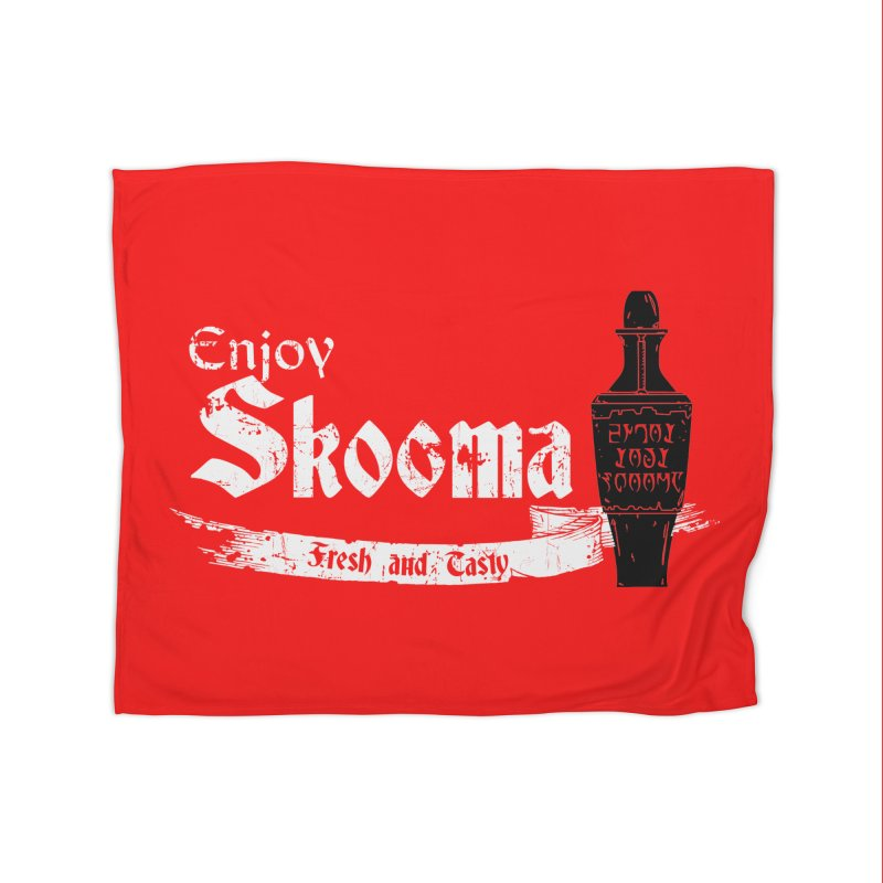 Skooma Lover Home Fleece Blanket Blanket by darkchoocoolat's Artist Shop
