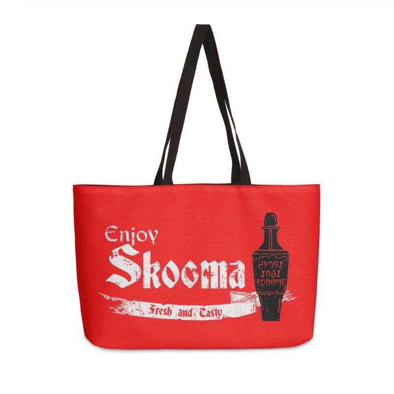 Skooma Lover Accessories Weekender Bag Bag by darkchoocoolat's Artist Shop