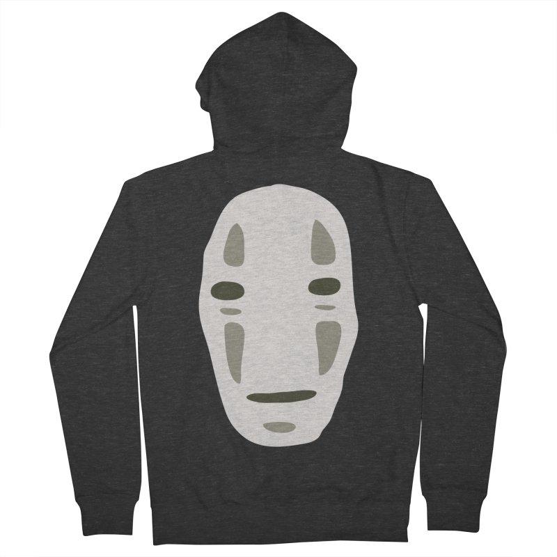 No Face Men's French Terry Zip-Up Hoody by darkchoocoolat's Artist Shop