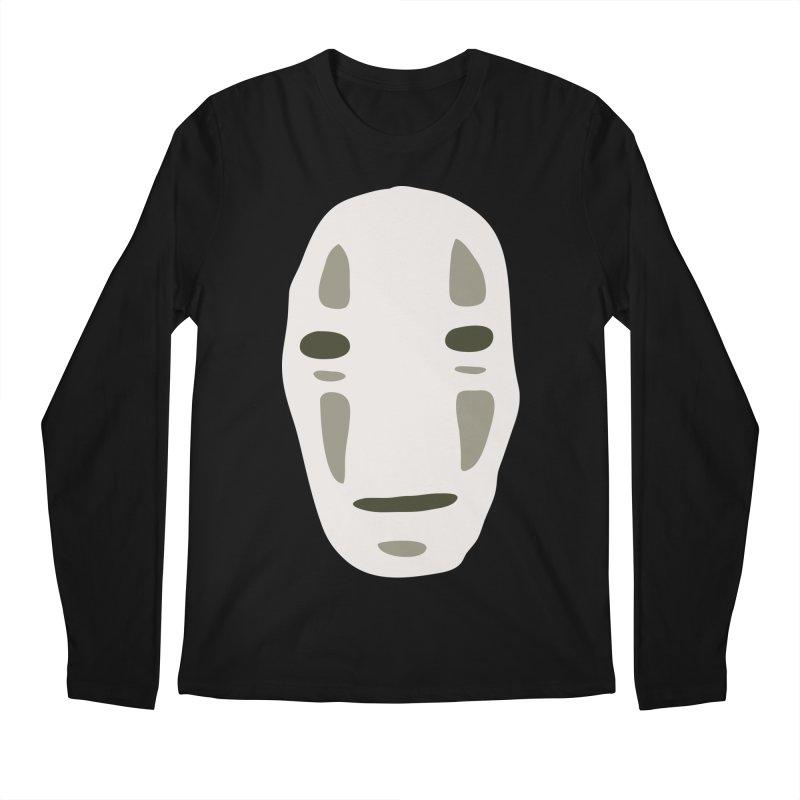 No Face Men's Regular Longsleeve T-Shirt by darkchoocoolat's Artist Shop