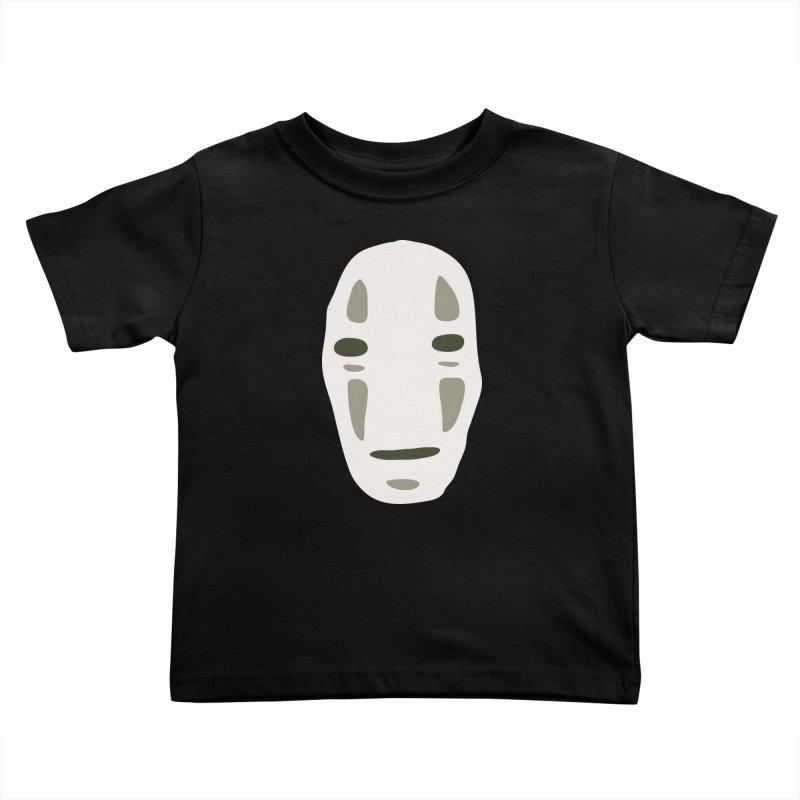 No Face Kids Toddler T-Shirt by darkchoocoolat's Artist Shop