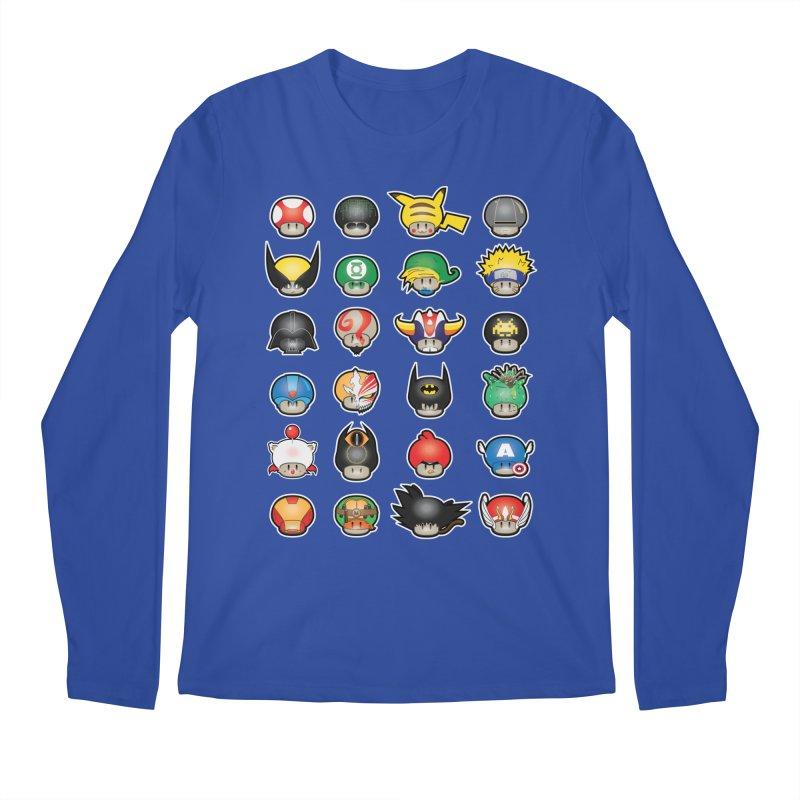 Know your Mushrooms Men's Regular Longsleeve T-Shirt by darkchoocoolat's Artist Shop
