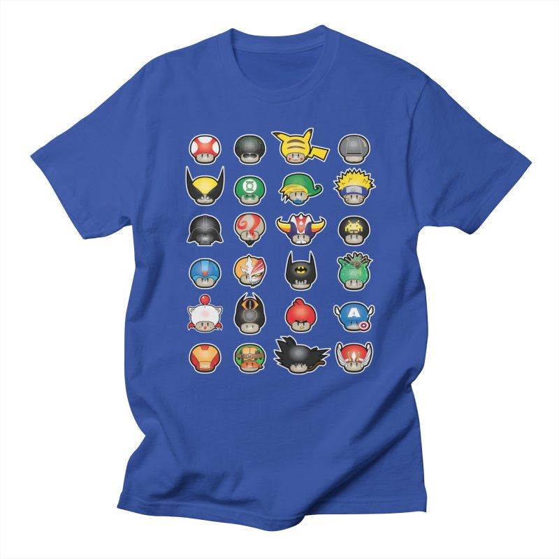 Know your Mushrooms Women's Regular Unisex T-Shirt by darkchoocoolat's Artist Shop