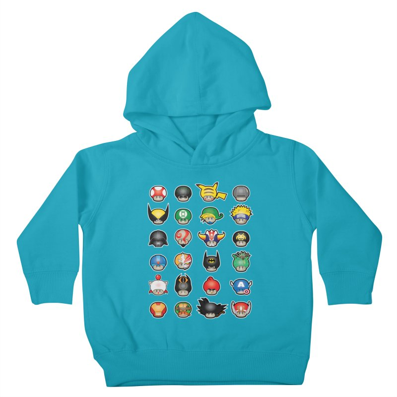Know your Mushrooms Kids Toddler Pullover Hoody by darkchoocoolat's Artist Shop