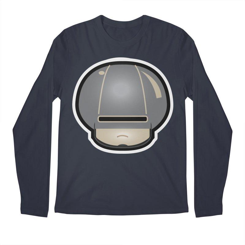 Cop Mushroom Men's Regular Longsleeve T-Shirt by darkchoocoolat's Artist Shop