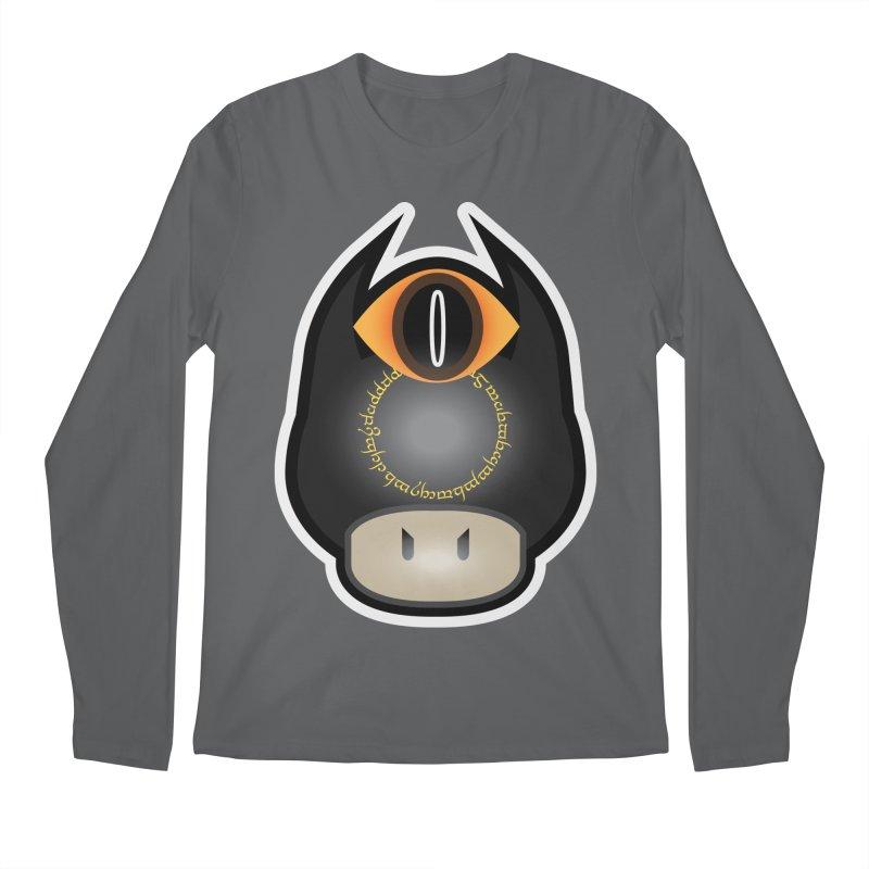 Lord of the Mushrooms Men's Regular Longsleeve T-Shirt by darkchoocoolat's Artist Shop