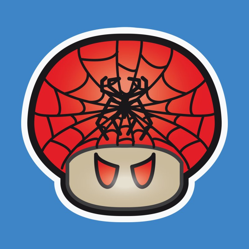 Spider Mushroom by darkchoocoolat's Artist Shop