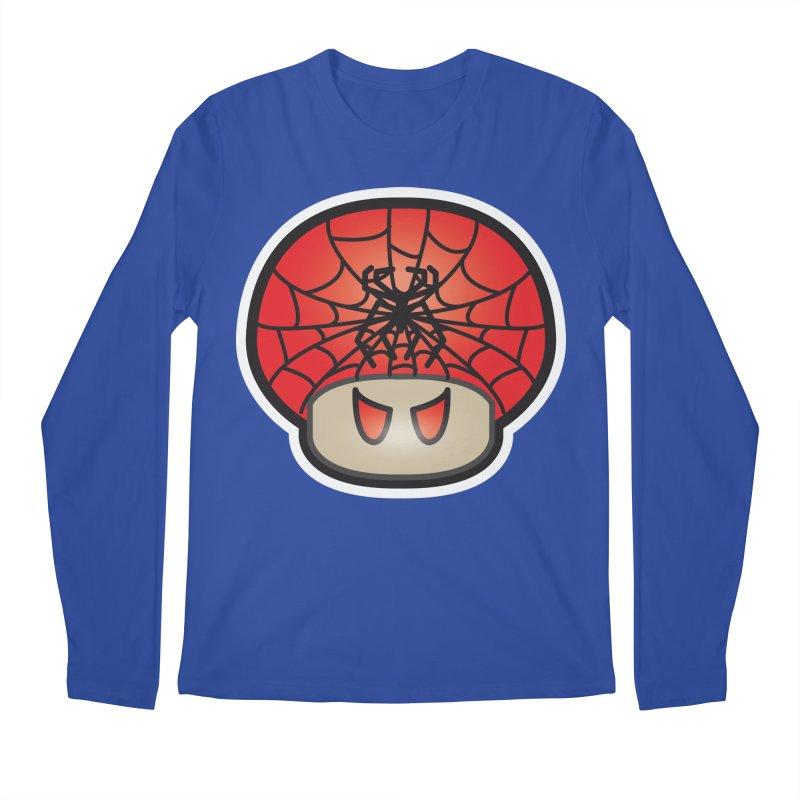 Spider Mushroom Men's Regular Longsleeve T-Shirt by darkchoocoolat's Artist Shop
