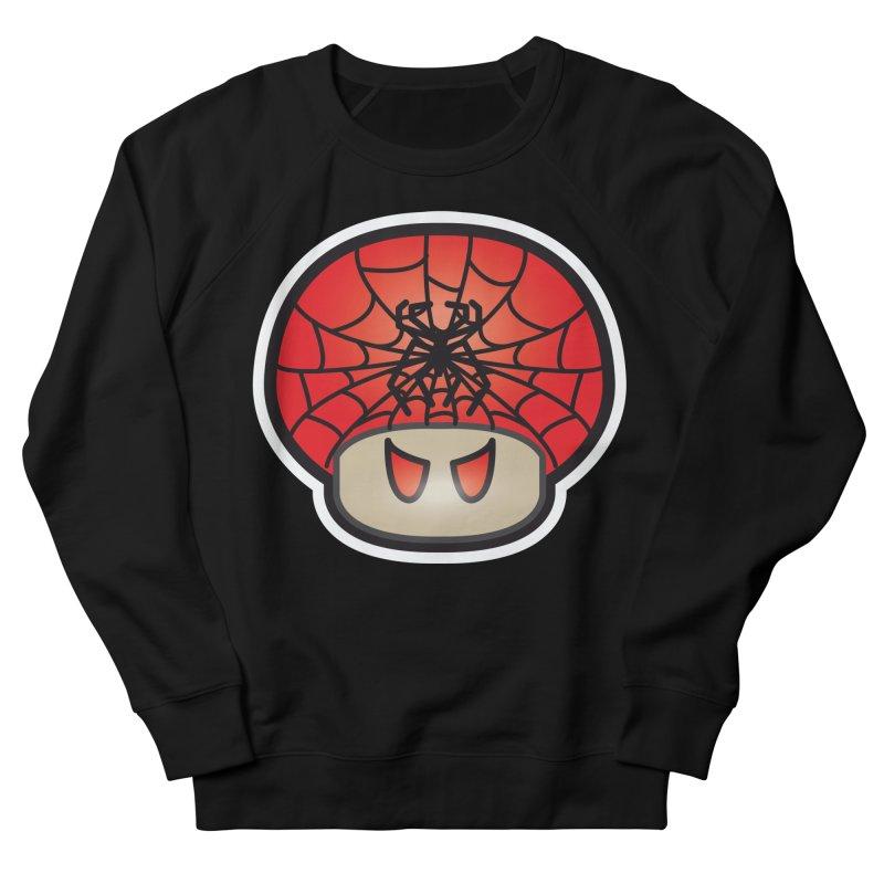 Spider Mushroom Men's French Terry Sweatshirt by darkchoocoolat's Artist Shop