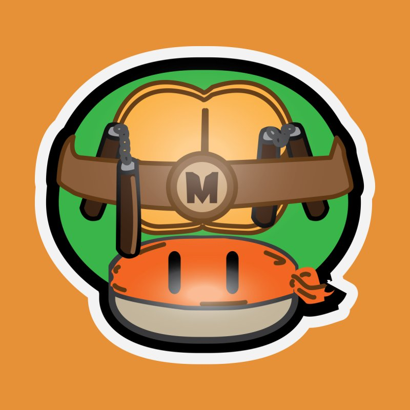 Teenage Mutant Hero Mushroom by darkchoocoolat's Artist Shop