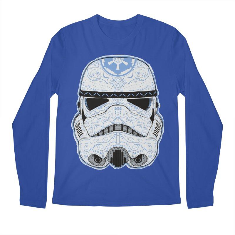 Storm Skull Candy Trooper Men's Regular Longsleeve T-Shirt by darkchoocoolat's Artist Shop