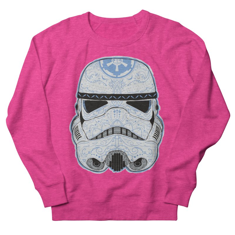 Storm Skull Candy Trooper Men's French Terry Sweatshirt by darkchoocoolat's Artist Shop