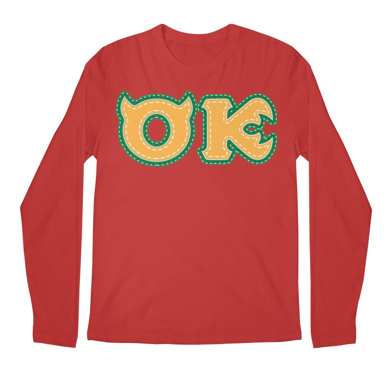 oozma Kappa Men's Regular Longsleeve T-Shirt by darkchoocoolat's Artist Shop