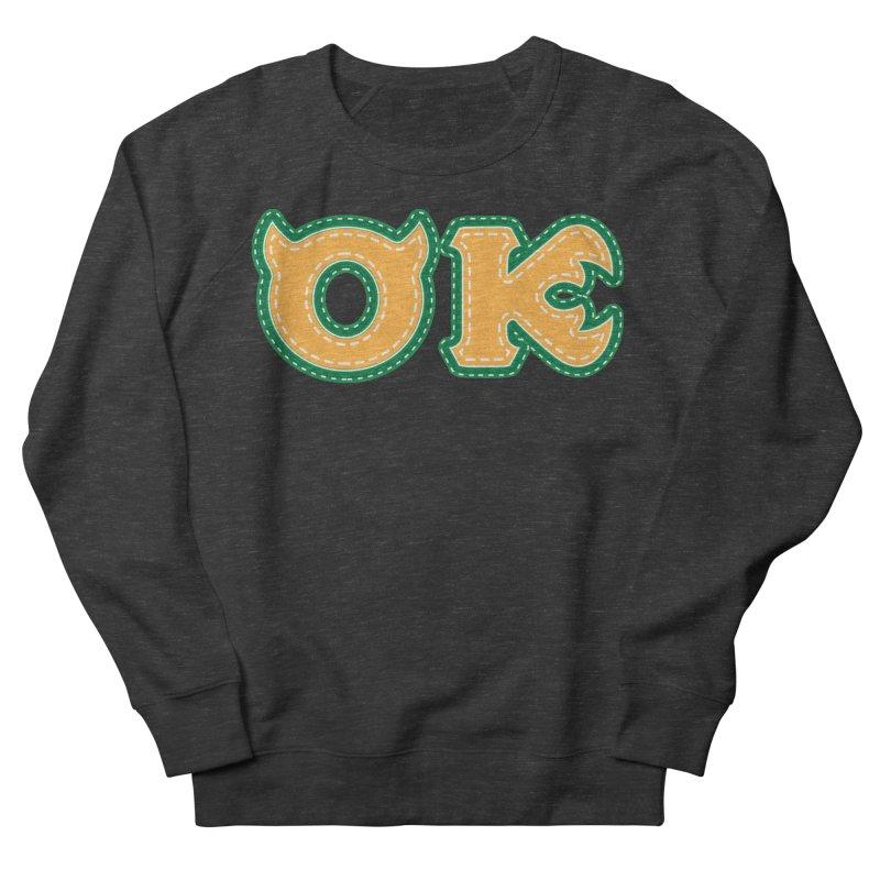 oozma Kappa Men's French Terry Sweatshirt by darkchoocoolat's Artist Shop