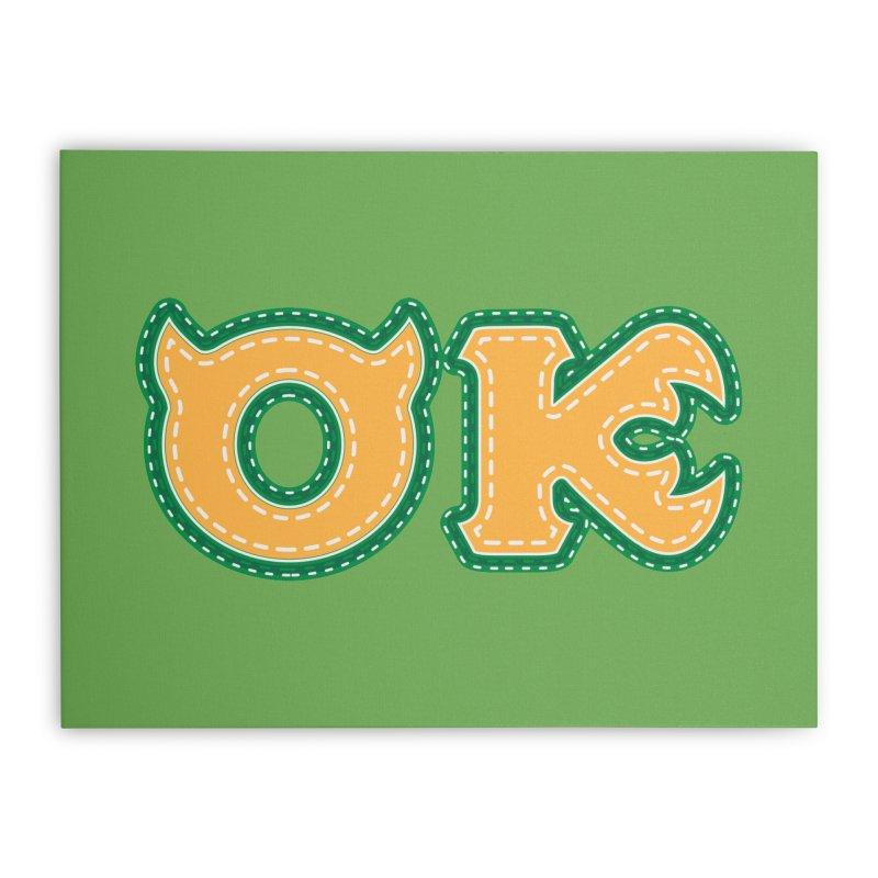 oozma Kappa Home Stretched Canvas by darkchoocoolat's Artist Shop