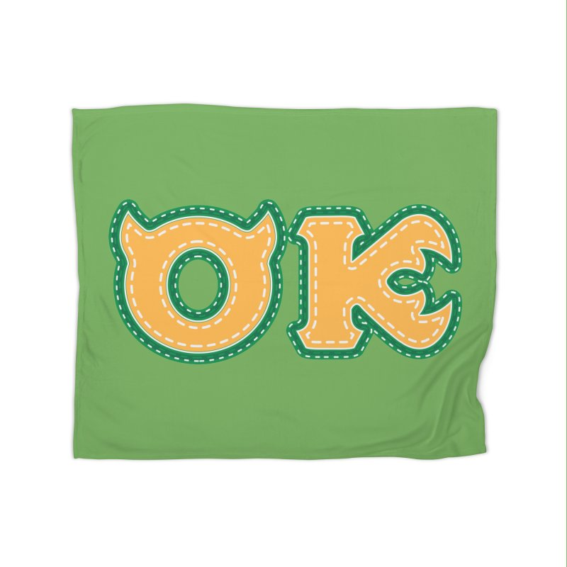 oozma Kappa Home Fleece Blanket Blanket by darkchoocoolat's Artist Shop