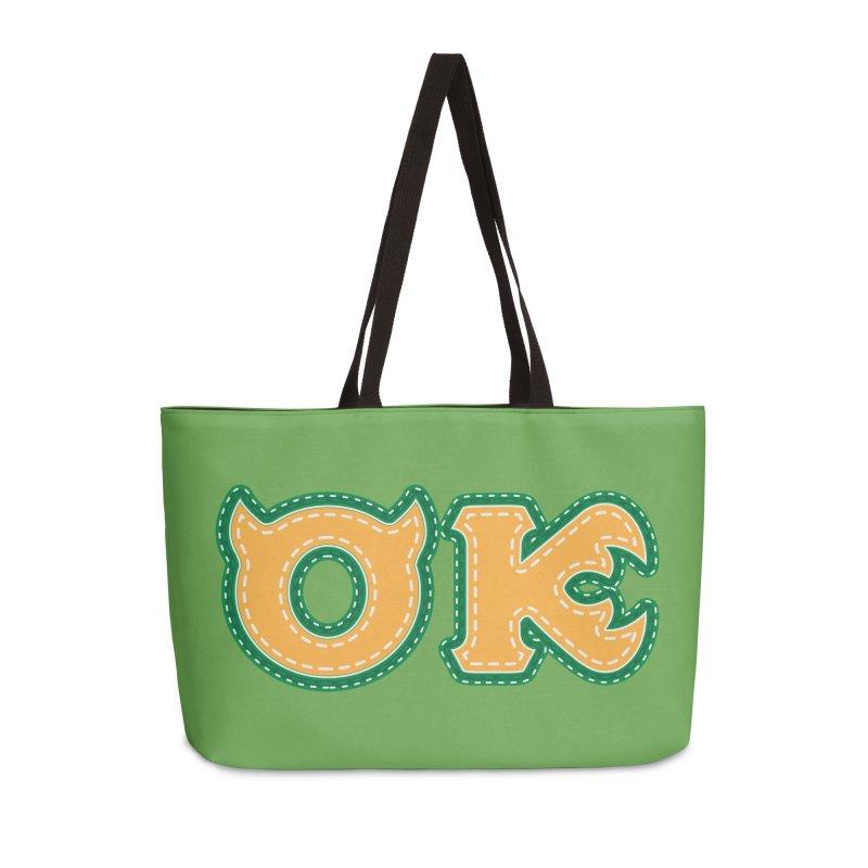 oozma Kappa Accessories Weekender Bag Bag by darkchoocoolat's Artist Shop
