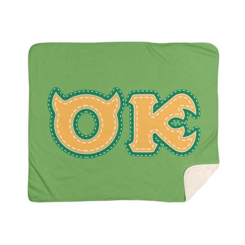 oozma Kappa Home Sherpa Blanket Blanket by darkchoocoolat's Artist Shop