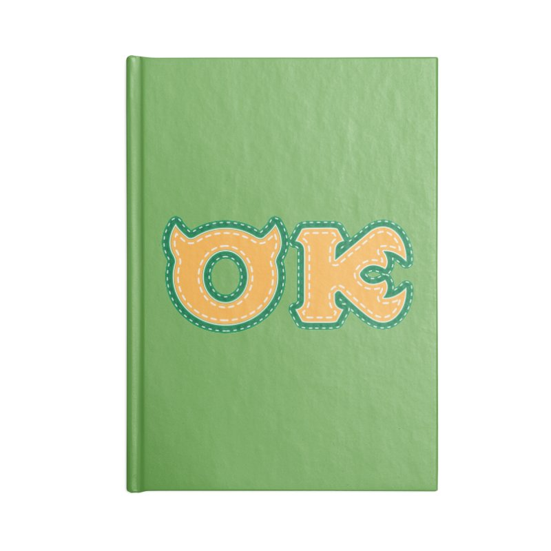 oozma Kappa Accessories Blank Journal Notebook by darkchoocoolat's Artist Shop